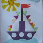 Фото 31: Аппликация кораблик своими руками