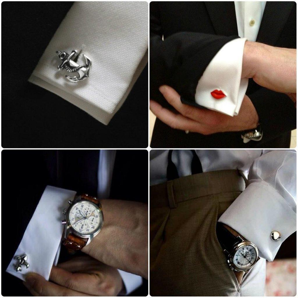 Оригинальные запонки в подарок мужчине