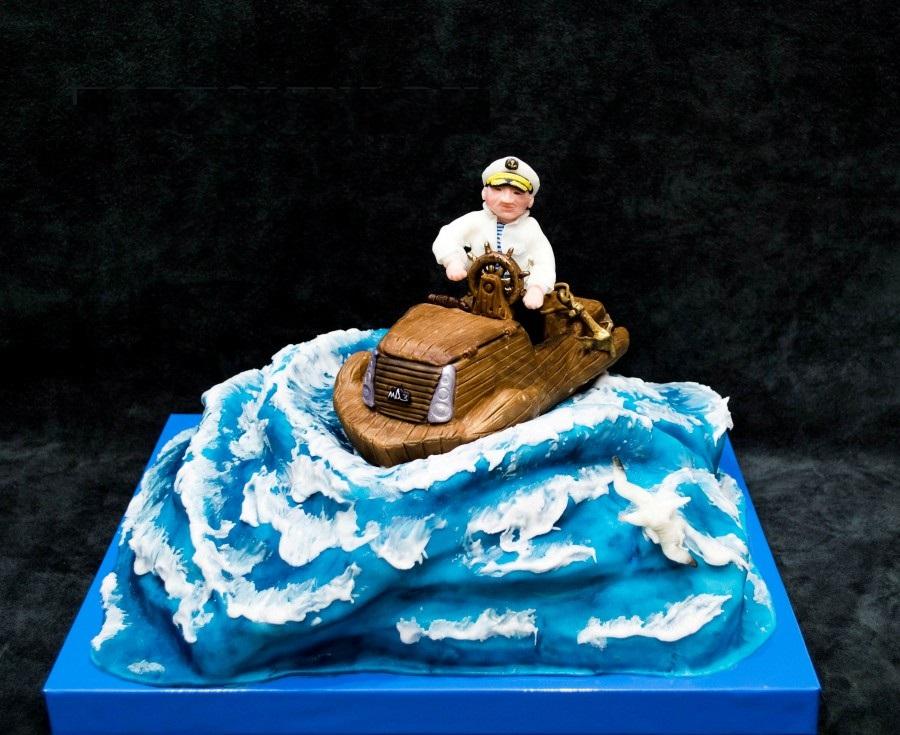 Морской волк торт