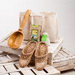 Фото 10: Натуральный набор для бани на День защитника Отечества