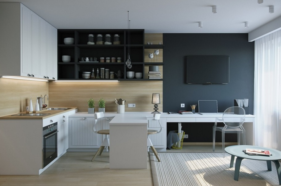 Практичная квартира-студия