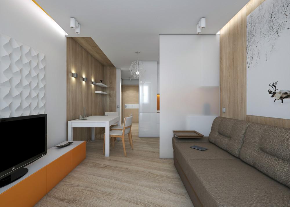 Расстановка мебели в квартире-студии