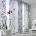 Фото 36: Японские шторы в гостиной
