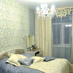Фото 20: Ажурный ламбрекен для штор в спальне