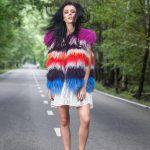 Фото 26: Разноцветная меховая жилетка