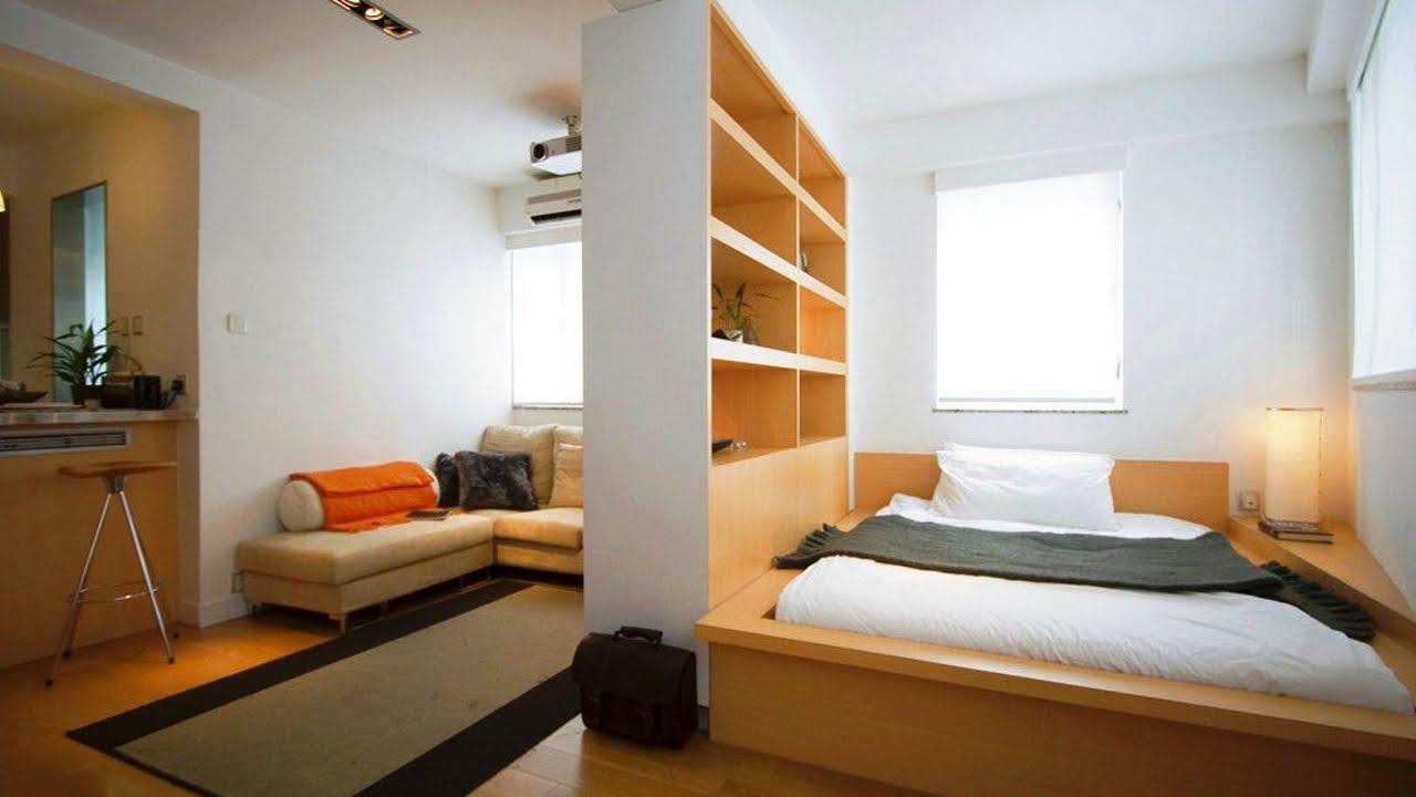 Шкафы частично замещают межкомнатные стены