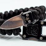 Фото 29: Подарок функциональный браслет из паракорда с ножом на 23 февраля