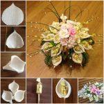 Фото 75: Сделать букет из конфет с лилиями своими руками