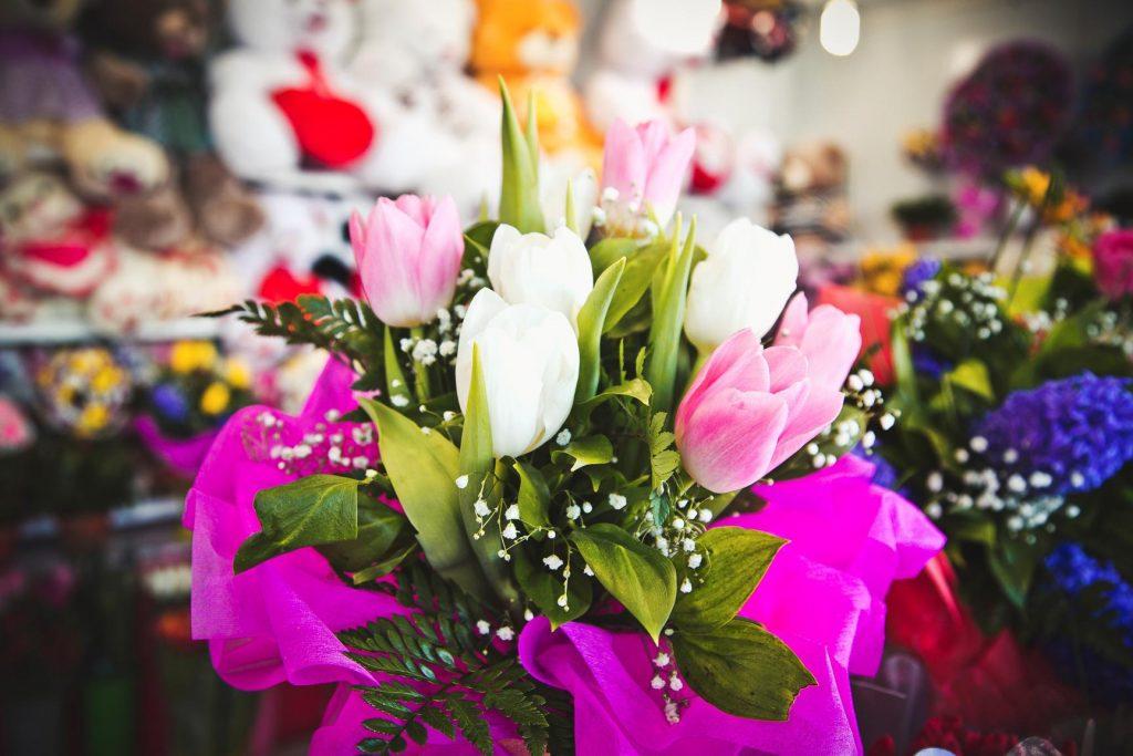 Красивый букет тюльпанов на 8 Марта