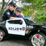 Фото 61: Подарить детский полицейский электромобиль ребенку