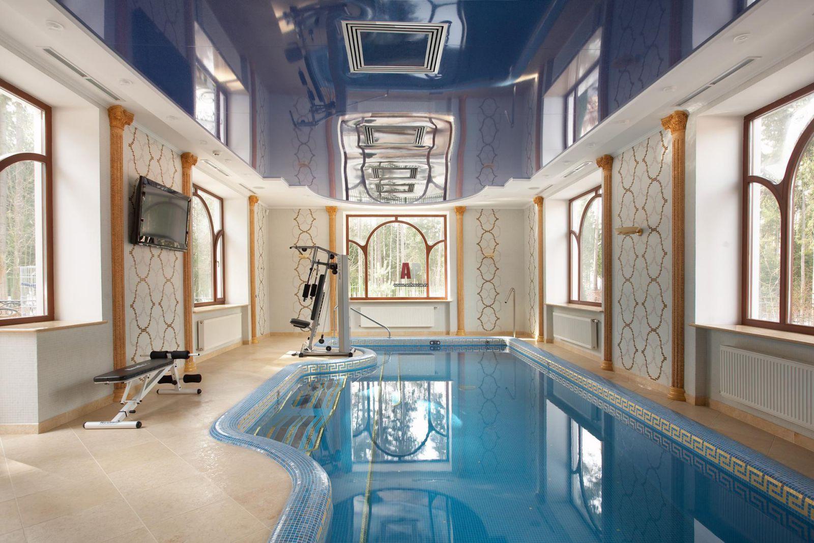 Фото дизайна бассейна в доме