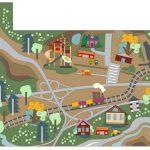 Фото 23: Разработка дизайна детского коврика с дорогами