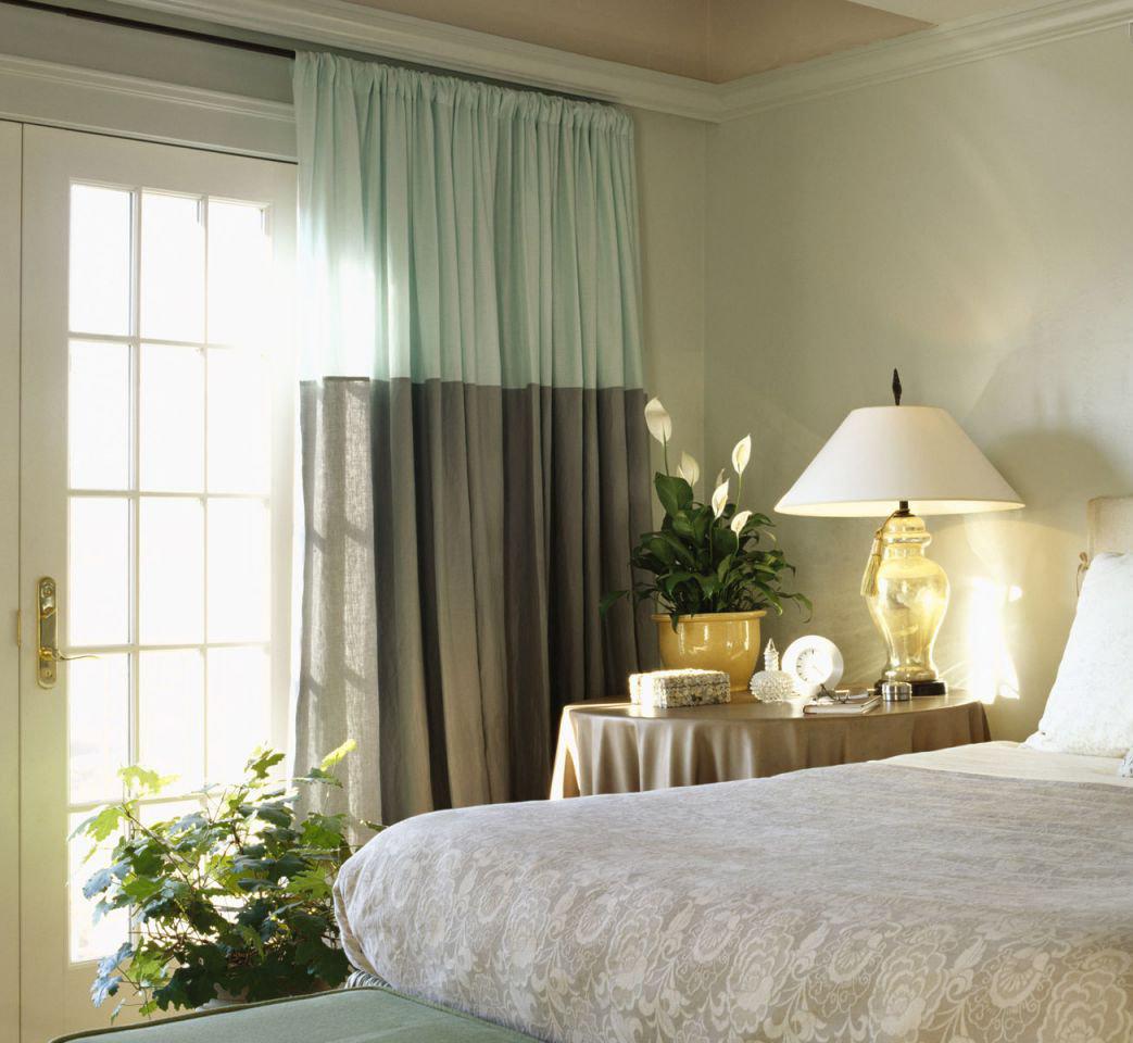 Дизайн штор для спальни в 2017 году