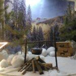 Фото 31: Организовать фотозону с палаткой на 23 февраля