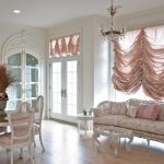 Фото 31: Французские шторы в гостиной