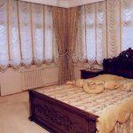 Фото 21: Французские шторы в спальне