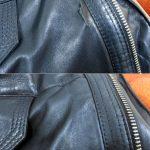 Фото 18: Ремонт кожаной куртки жидкой кожей