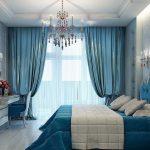 Фото 41: Шторы под текстиль в спальне