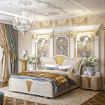 Фото 26: Шторы для спальни в стиле бароккко