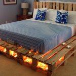 Фото 25: Кровать из паллетов своими руками