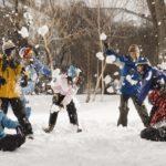 Фото 45: Игра в снежки на 23 февраля