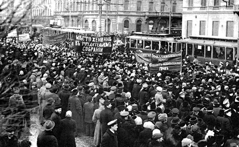 Большевистские женские манифестации в СССР