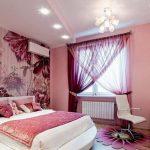 Фото 43: Немецкие шторы в спальне