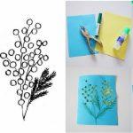Фото 71: Сделать открытку с мимозой в технике киригами