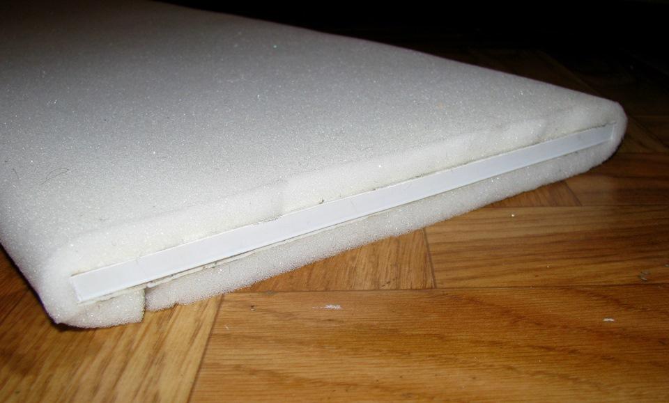 Пенопропилен - основа для детских ковриков с дорогами