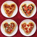 Фото 60: Пицца на 14 февраля