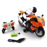 Фото 79: Радиоуправляемый мотоцикл в подарок мальчику