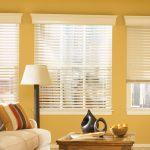 Фото 31: Реечные шторы в гостиной