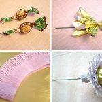 Фото 85: подарок ромашка из конфет и бумаги своими руками на 8 марта