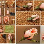 Фото 39: Изготовить букет роз из конфет поэтапно