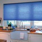 Фото 33: Рулонные шторы на кухне