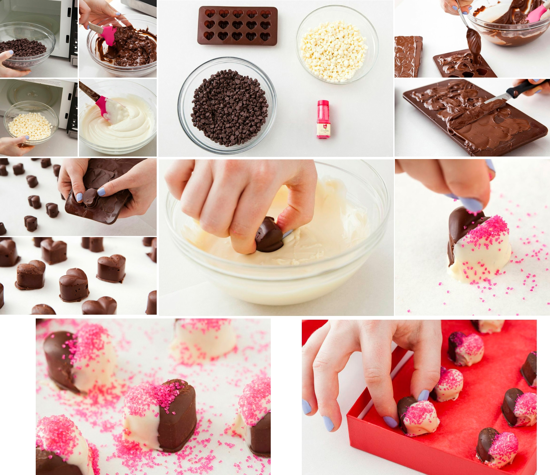 Изготовление шоколадных конфет своими руками