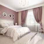 Фото 29: Шелковые шторы для спальни