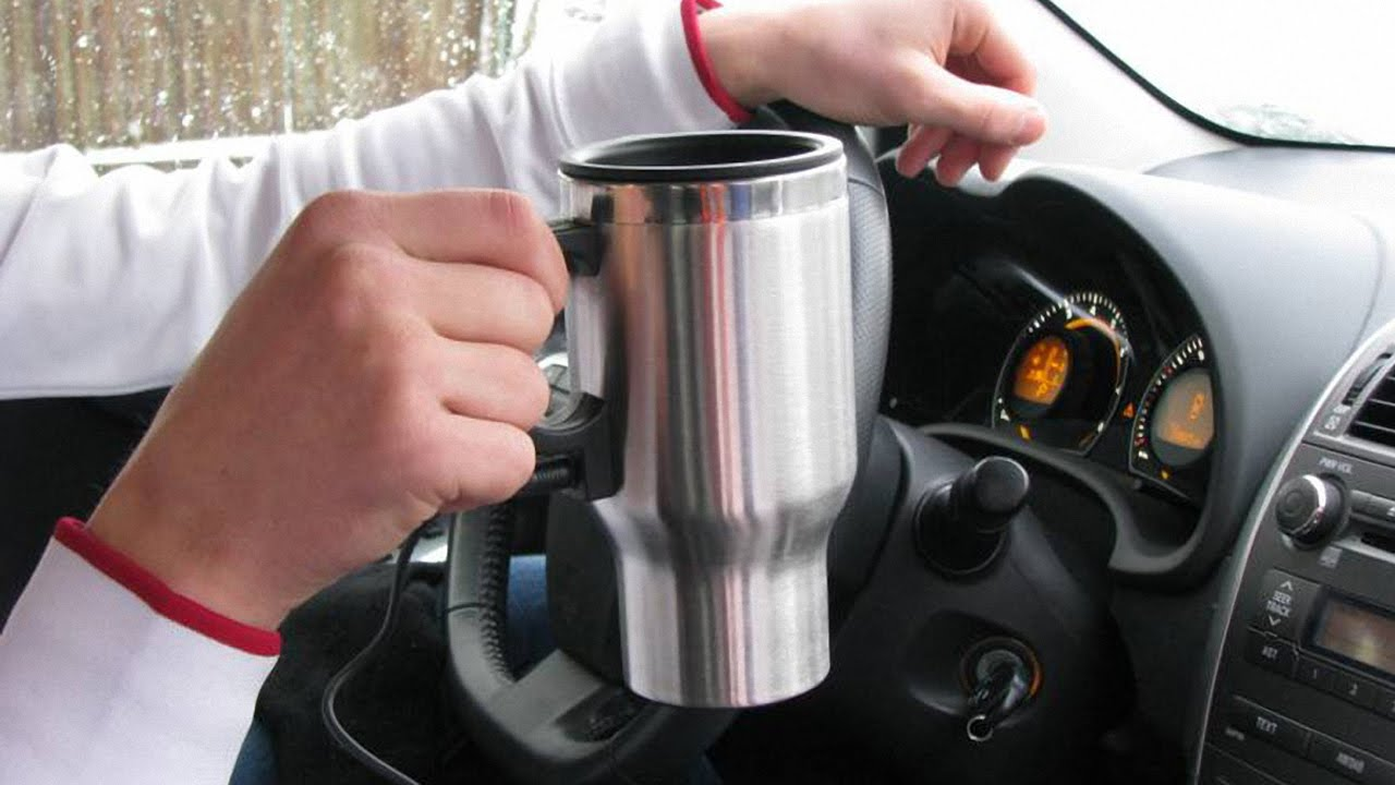 Термокружка в машину на 14 февраля