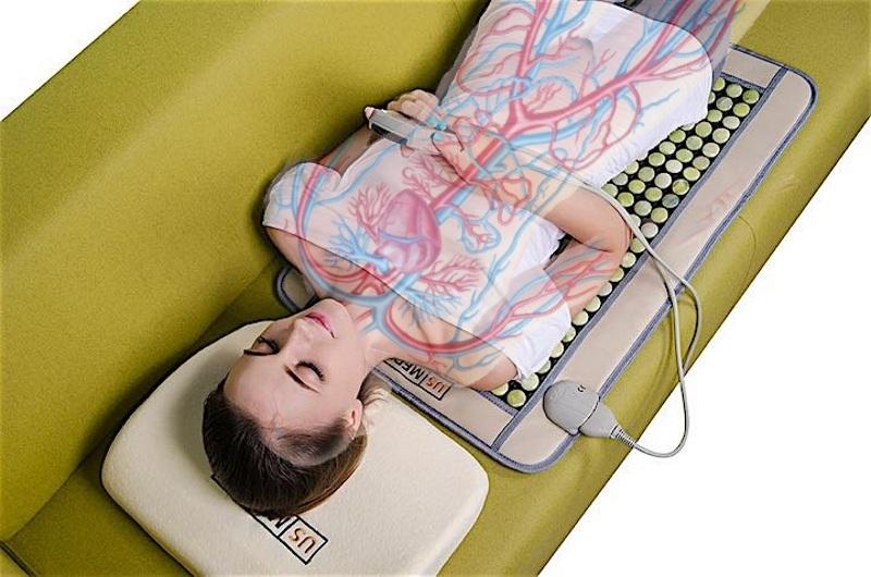 Нефритовый коврик для кровообращения
