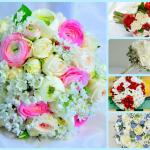 Фото 46: Красивые весенние композиции с розами на 8 мрта