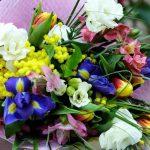 Фото 74: Весенний букет в подарок женщине