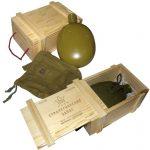 Фото 60: Оформите подарок в ящики под припасы из фанеры