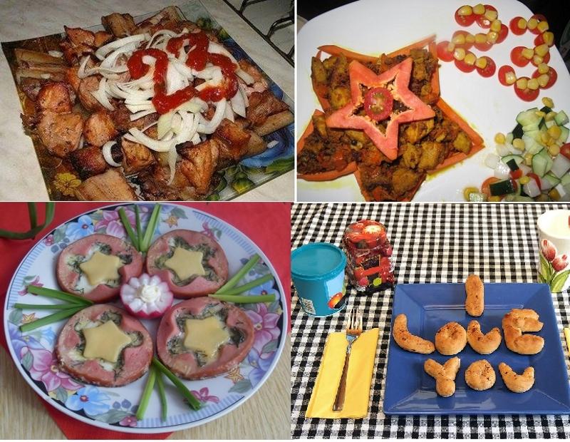 Идеи блюд на День Защитника Отечества своими руками