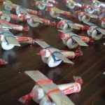 Фото 84: Самолетики аскорбинки на 23 февраля в подарок