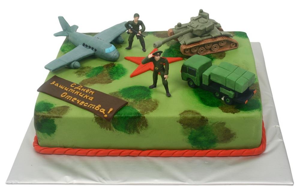 Заказать торт на 23 февраля