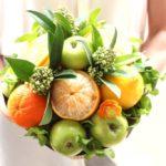 Фото 43: Букет из фруктов на 8 марта