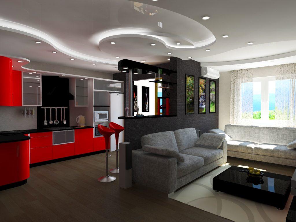 Молодежная квартира студия