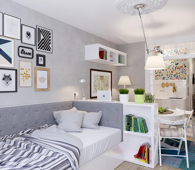 Удачная планировка квартиры-студии