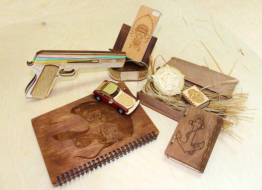 Подарить деревянный набор джентльмена
