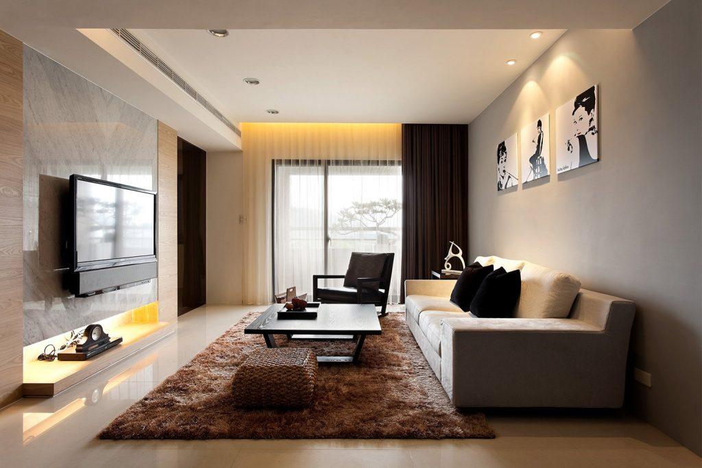 Эргономичная гостиная в современном стиле